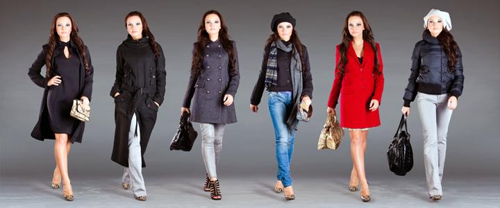 Группы женской одежды доставка